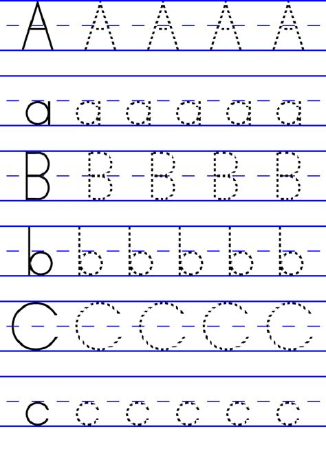 printable tracing letters for pre k free abc worksheets for pre k loving printable