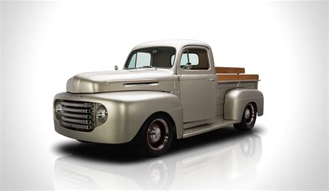 truck ford 1949 ford f1 pickup truck muted