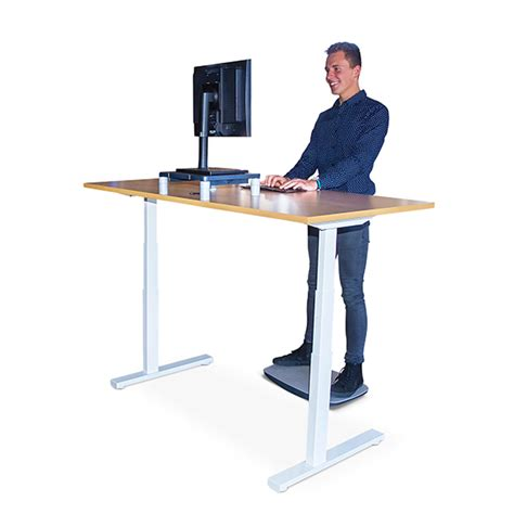 Linak Electric Height Adjustable Desk by Linak Kick Click Standing Desk Ergonomics Now