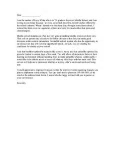 Complaint Letter Template For School Complaint Letter To School