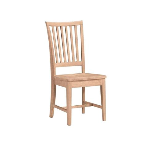 Mission Hardwood Dining Side Chair 2 Pack Free Shipping Cargo Dining Chairs