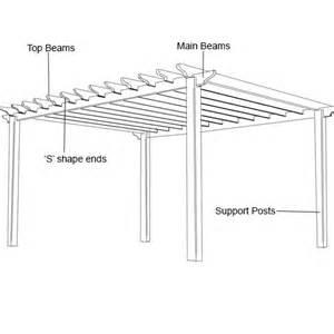 Pergola Construction Details by Garden Pergolas Wooden Pergolas