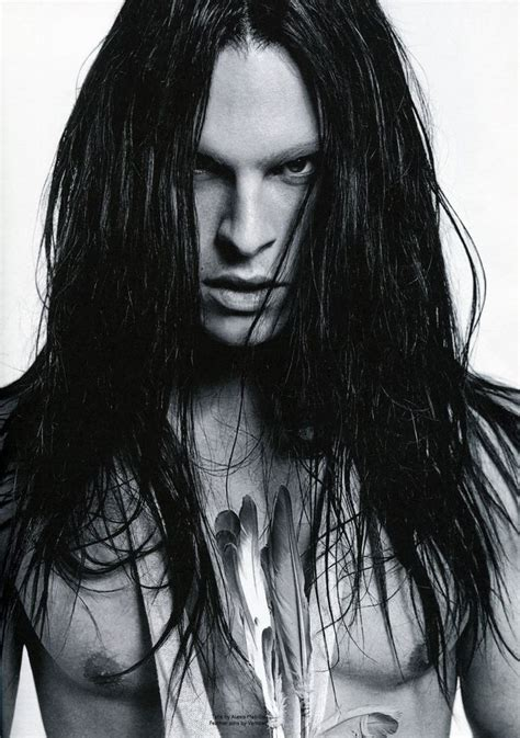 male models with long straight hair kingdom of style eagle feather to my heart