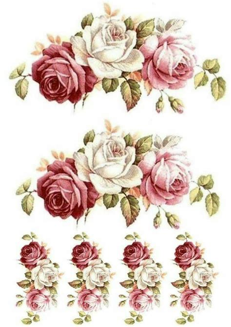free printable decoupage flowers decoupage decoupage pinterest decoupage flowers and