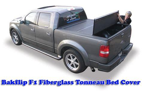 fiberglass truck bed covers bakflip f1 fiberglass tonneau bed cover 72309 04 13 f150