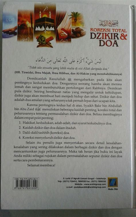 Koreksi Total Shalat Kita buku koreksi total dzikir dan doa 700 koreksi dalam dzikir doa