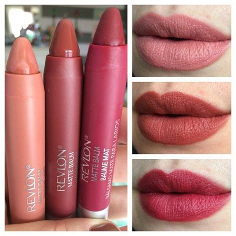 Revlon Lip Matte revlon colorburst matte balm lip color swatches all