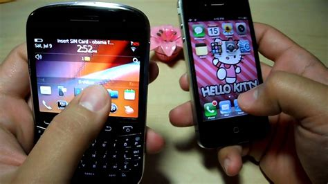iphone themes for blackberry 9900 blackberry bold touch 9900 vs iphone 4 awesome blossom
