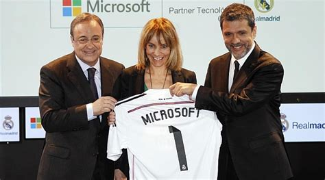 Microsoft Real Madrid real madrid y microsoft apuestan por la transformaci 243 n
