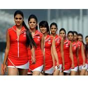Indian GP  Grid Girls Photos F1 Motorsports DriveSpark