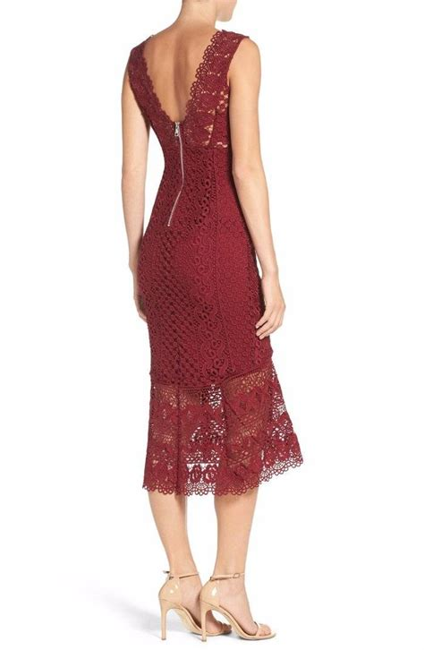 Bardot Lace Dress Wine Medium by Bardot Odyssey Lace Midi Dress Wine Burgundy Large 10 Ebay