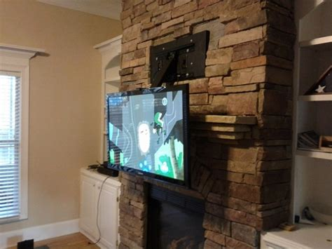 mounting a tv a fireplace tv fireplace mount willothewrist