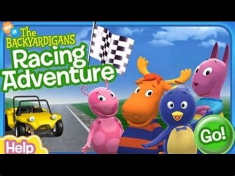 Backyardigans Race Nick Jr Backyardigans Racing Adventure