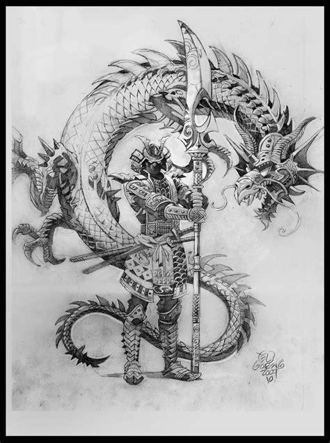 dragon warrior tattoo designs 20 samurai tattoos designs and ideas