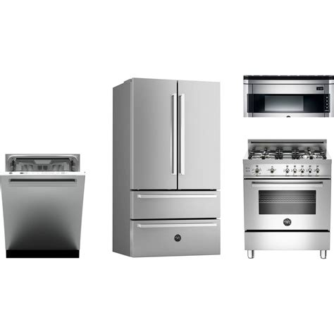 kitchen package deals on appliances bertazzoni kitchen package with pro304gasx gas range ref36x refrigerator dw24xv dishwasher