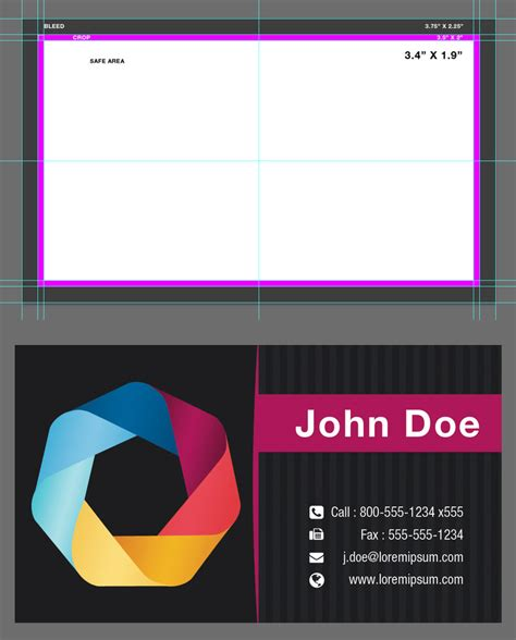 business card bleed template psd blank business card template psd by xxdigipxx on deviantart