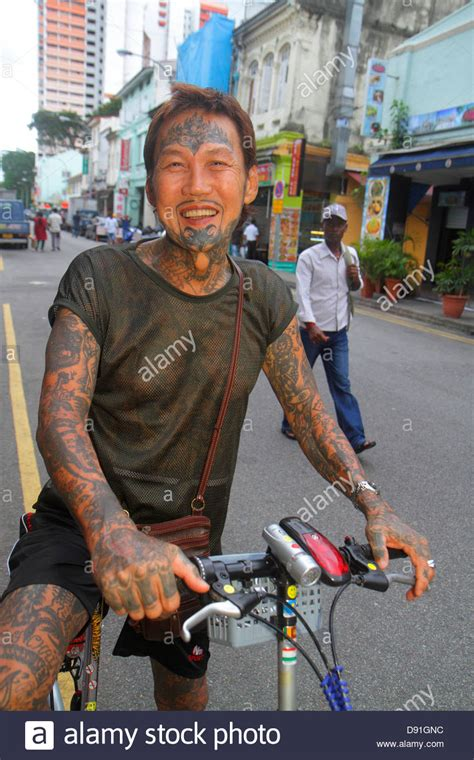 tattoo singapore little india singapore little india asian man tattoos entire body arms
