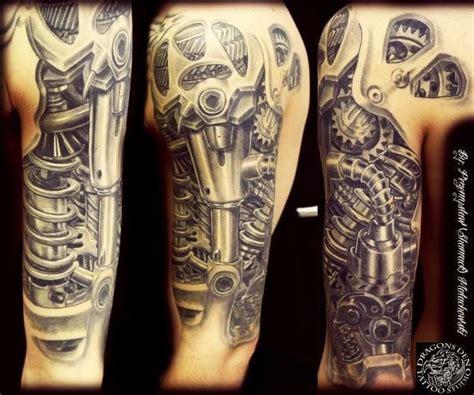 biomechanical tattoo ireland working machine tattoo tattoos pinterest sleeve