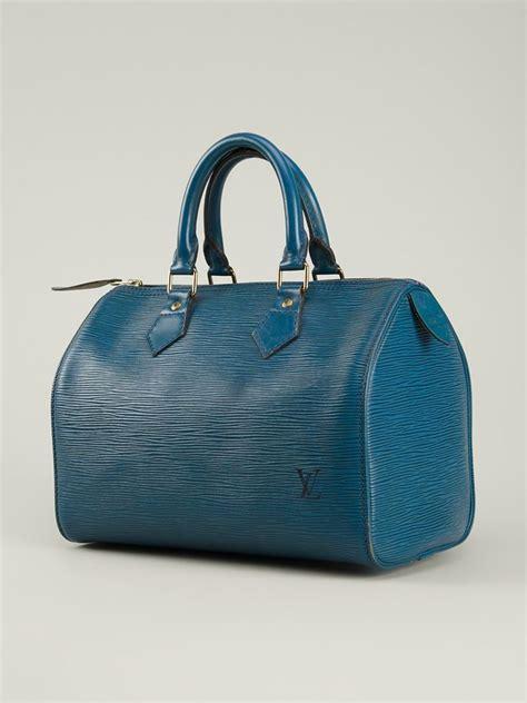 Fossil 8895 Speady Satchel louis vuitton speedy 25 bag in blue lyst