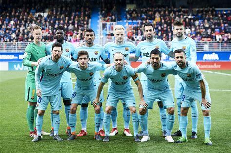 barcelona squad valverde names barcelona squad for ucl match at chelsea