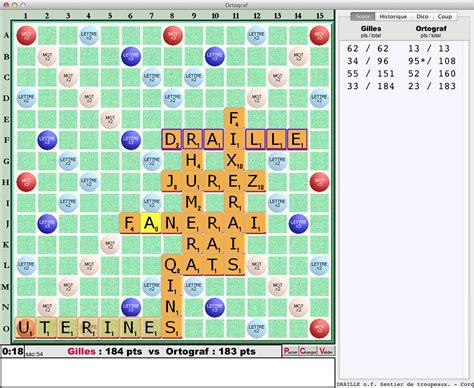 scrabble for imac ortograf jeu de mots crois 233 s pour votre macintosh scrabble