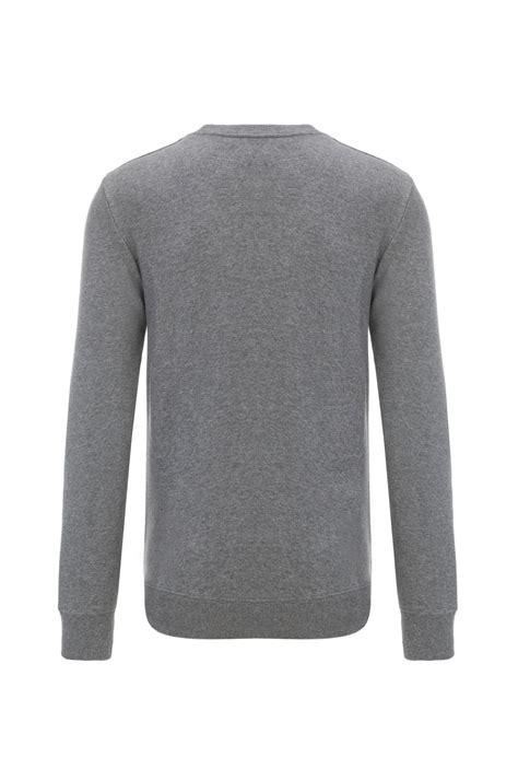 Hem Polo New Ij logo sweatshirt calvin klein gray gomez pl en
