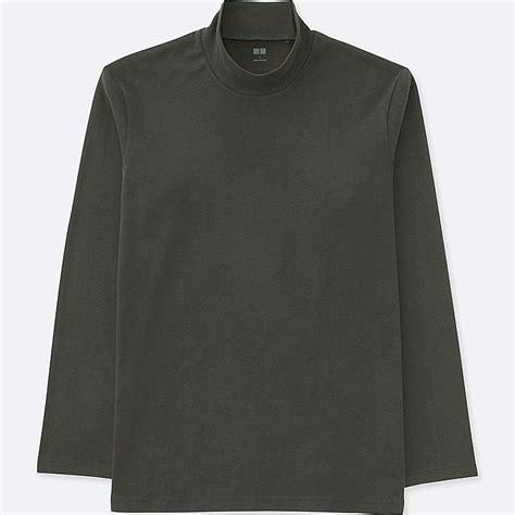 Mock Neck Sleeve T Shirt soft touch mock neck sleeve t shirt uniqlo us