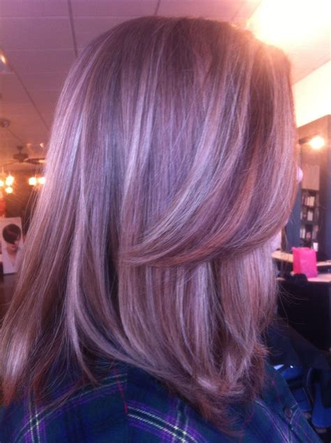 lowlights on total grey 17 best images about purple lowlights for grey hair on