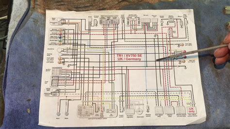 xv virago motorcycle wiring explained youtube