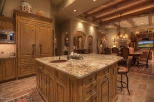 italian kitchen island italian kitchen decorating ideas with terra cotta floor and wooden kitchen island using textured