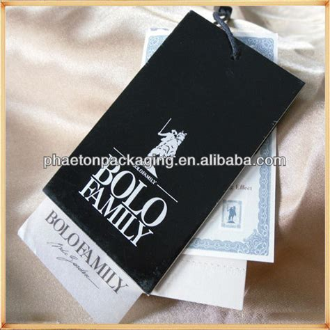 swing marke swing clothes brand tag paper for shirts view hang tag