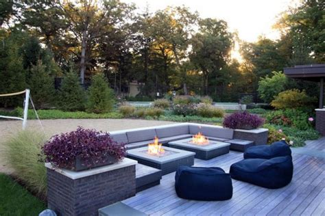 modern firepit 19 magnificent outdoor pit designs