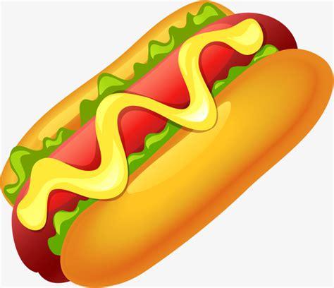 imagenes de un hot dog animado hand painted yellow hot dog mano lechuga romana