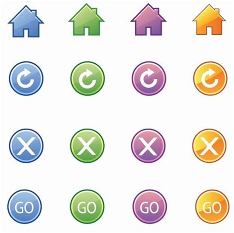 icon design basics basic web icons vector free icon all free web