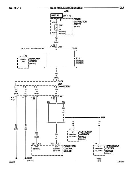 1999 jeep grand clock wiring diagram new
