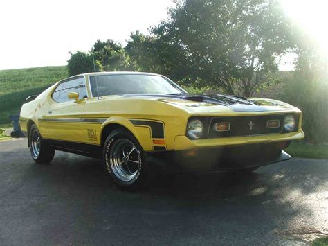 1971 ford mustang mach 1 for sale classiccars cc