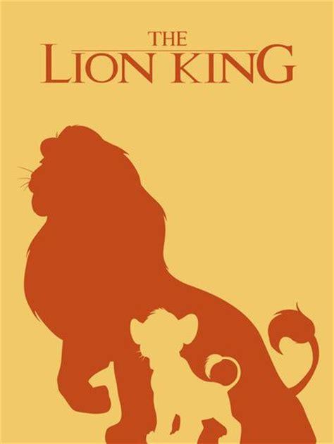 printable lion king poster the lion king art print by citron vert