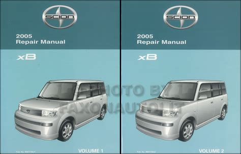 service manual 2005 scion xb factory service manual 2005 scion xb owners manual scion tc 2000 2006 celica echo xa xb automatic transmission repair shop manual