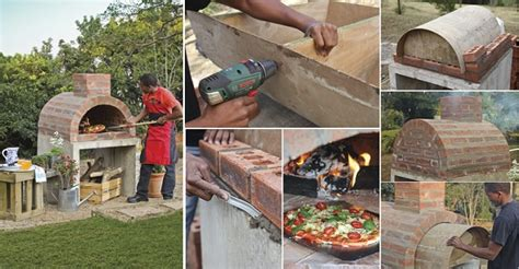 how to build your own pizza oven home design garden