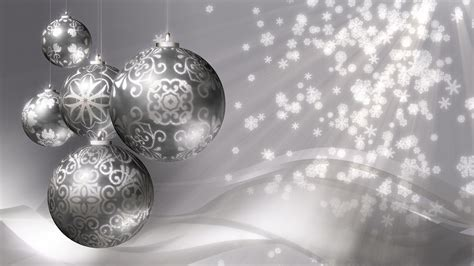 christmas background silver stock video footage