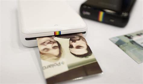Printer Foto Polaroid polaroid zip la stante portatile per selfie wired