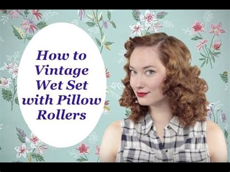 how to style wet sets how to vintage wet set pillow rollers the rachel dixon