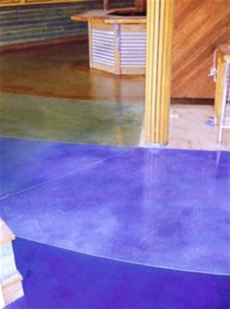 images  blue green stained concrete floors