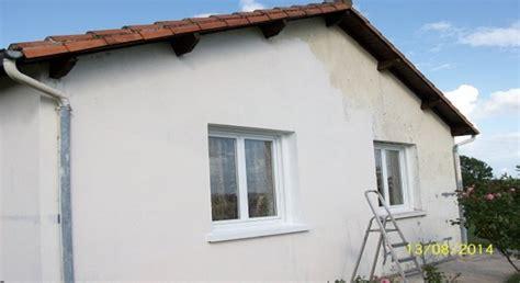 Repeindre Une Facade Deja Peinte by Peinture Ravalement Facade Resine De Protection Pour