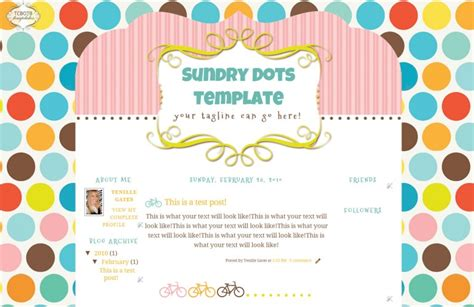 the cutest blog on the block blogger templates the cutest blog on the block cute