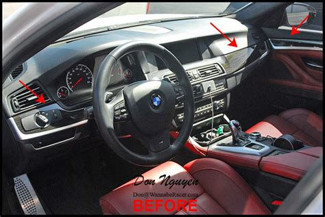 bmw bmw m5 f10 sedan matte carbon fiber interior car