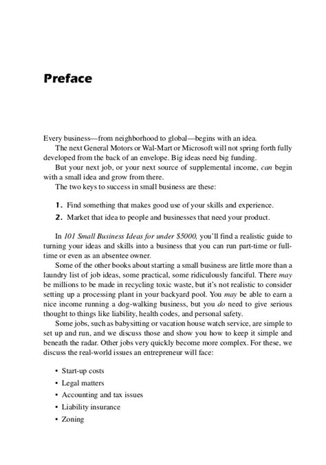 Home Business Ideas 5000 101 Small Business Ideas For 5000 Ebook
