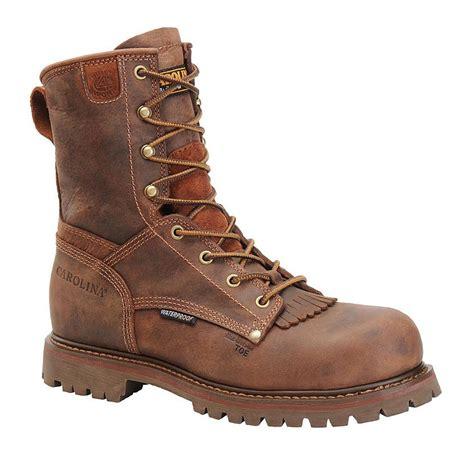 boot barn work boots carolina s 8 quot waterproof composite toe work boots