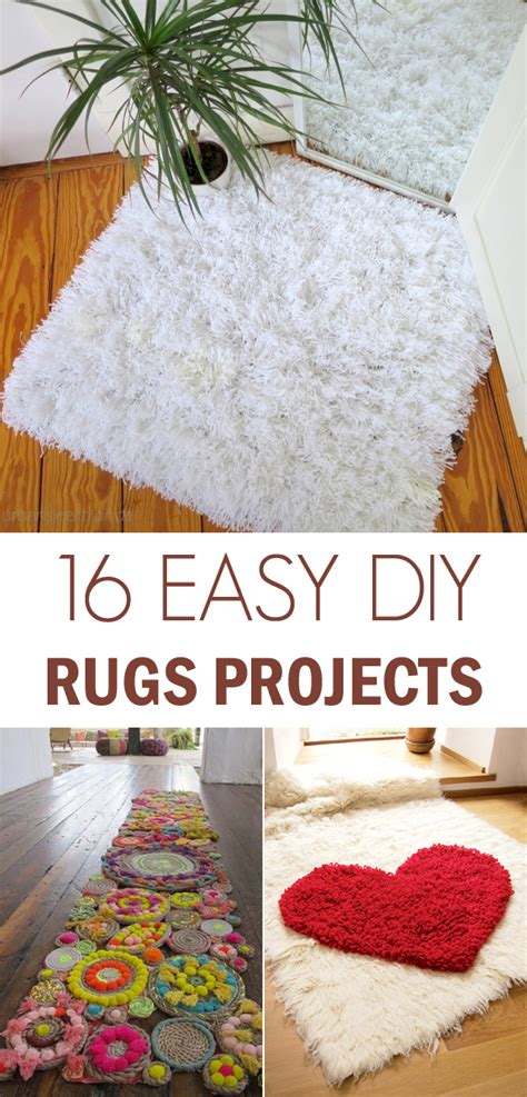 Diy Area Rug Ideas by 16 Awesome Diy Rugs To Brighten Up Your Home