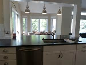 Kitchen Islands With Columns Incorporate A Support Post Into Kitchen Island Kitchen